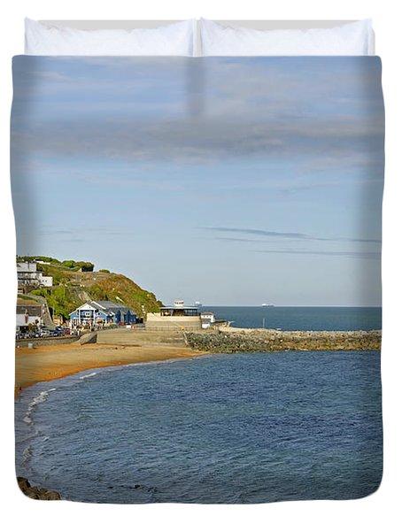 Ventnor Bay Duvet Cover by Rod Johnson
