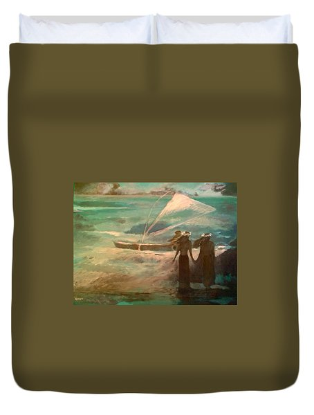 Vento Alle Hawaii Duvet Cover