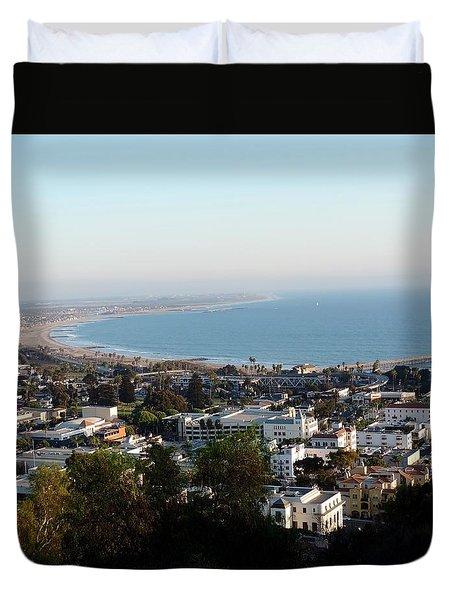 Ventura Coastline Duvet Cover