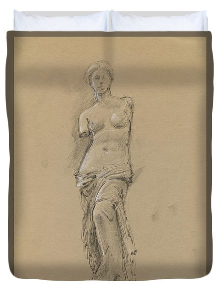 Venus De Milo Duvet Cover