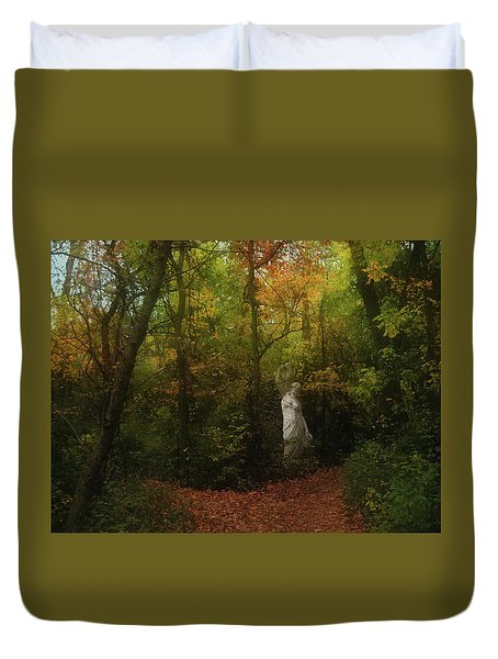 Venus Of The Woodland Duvet Cover