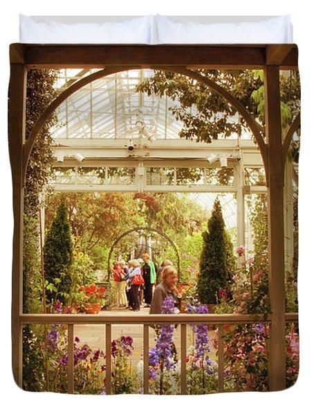 Veranda Views Duvet Cover