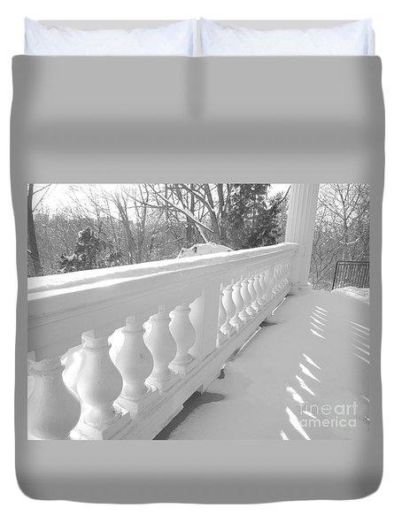Verandah At Cedar Ridge Duvet Cover