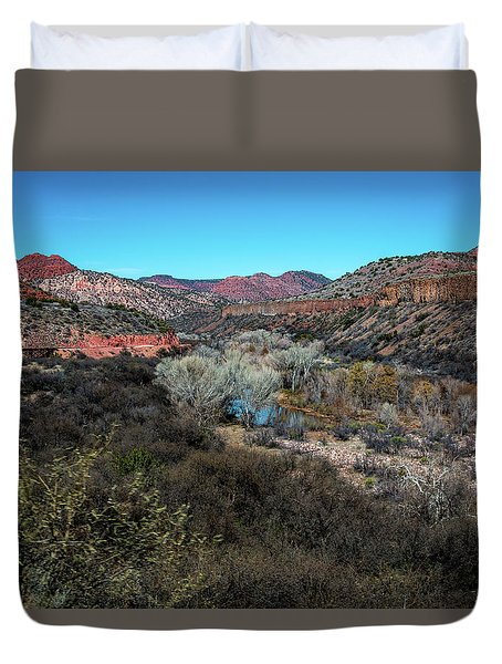 Verde Canyon Oasis Duvet Cover