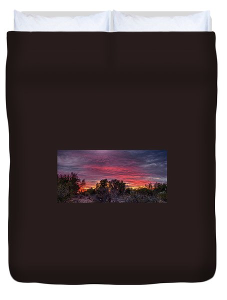 Verigated Sky Duvet Cover