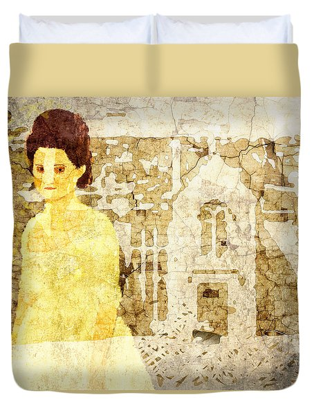 Verity Poldark Duvet Cover by Suzanne Powers