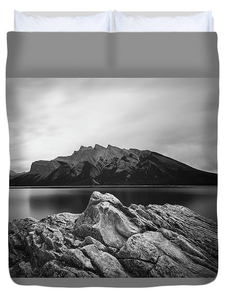 Vermilion Lake Duvet Cover