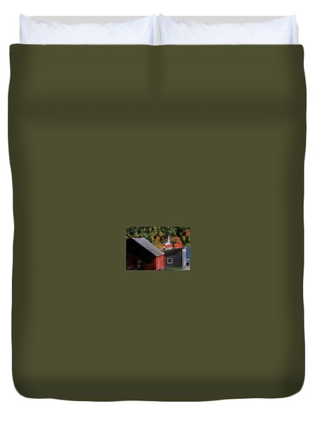 Vermont Again Duvet Cover