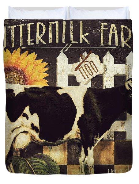 Vermont Farms Cow Duvet Cover
