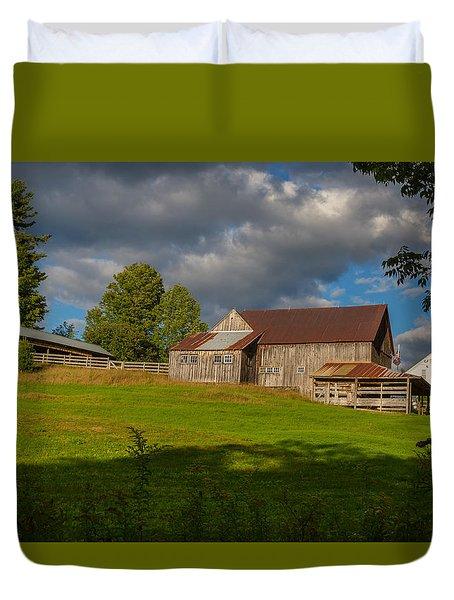 Vermont Hilltop Farm Duvet Cover