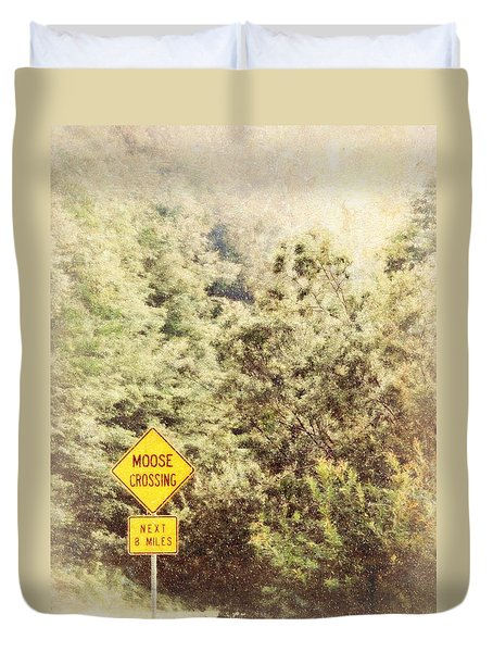 Vermont In Winter Duvet Cover