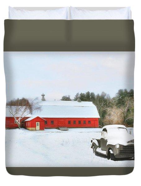Vermont Memories Duvet Cover