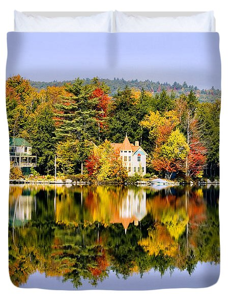Vermont Reflections Duvet Cover
