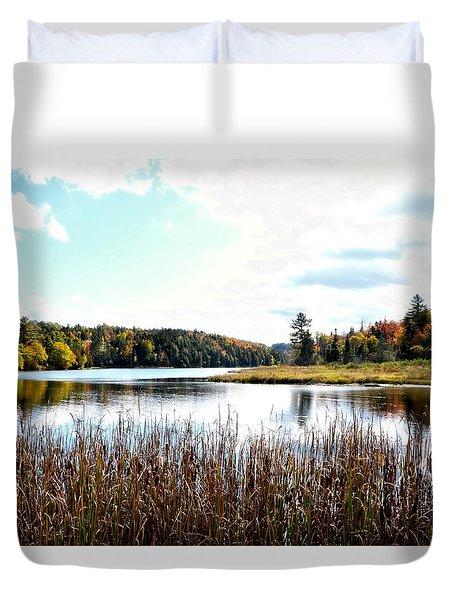 Vermont Scenery Duvet Cover