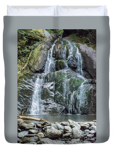 Vermont Waterfall Duvet Cover