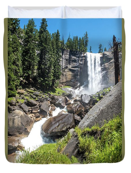 Vernal Falls- Duvet Cover