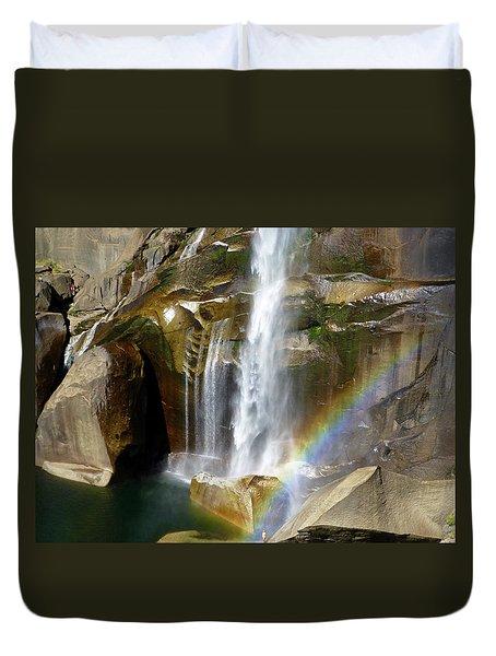 Vernal Falls Mist Trail Duvet Cover