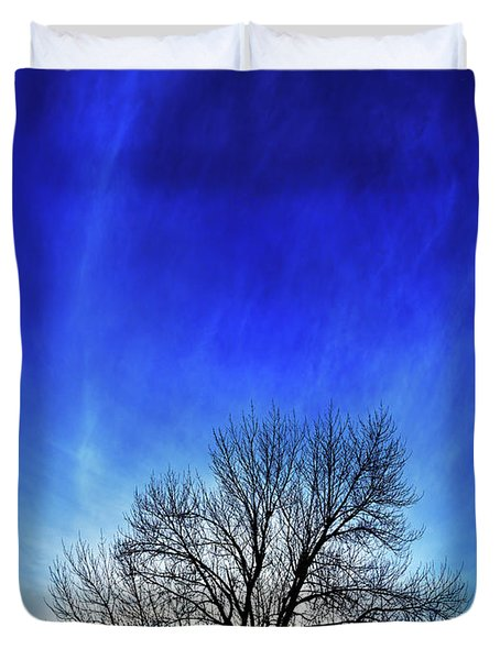 Vernal Sunset Duvet Cover