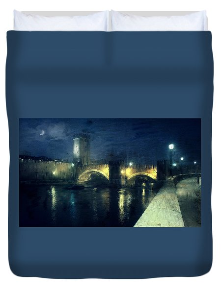 Verona, Castelvecchio Duvet Cover