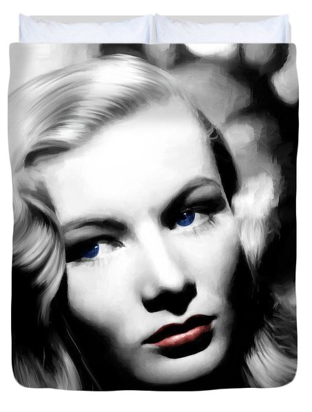 Veronica Lake Portrait #1 Duvet Cover