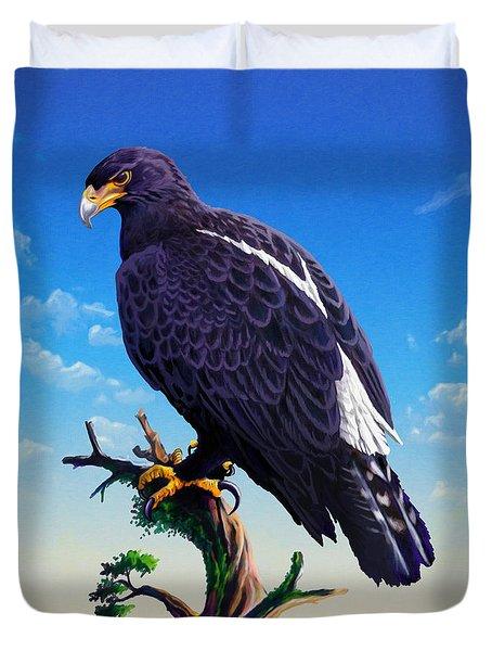 Verreaux's Eagle  Duvet Cover