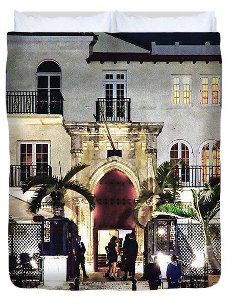Versace Mansion South Beach Duvet Cover