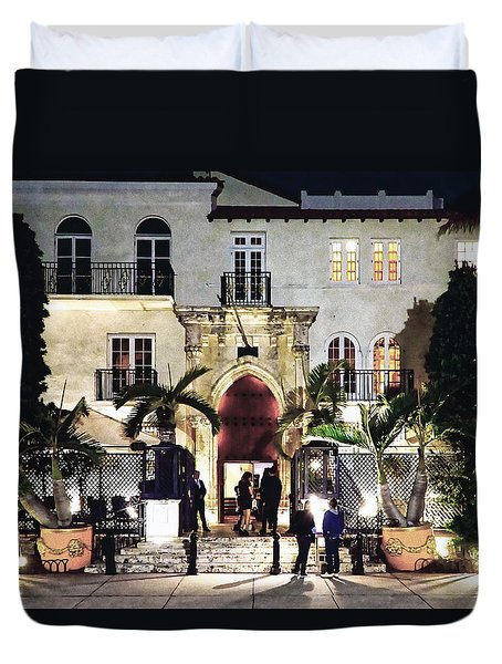 Versace Mansion South Beach Duvet Cover