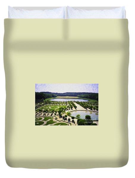 Versailles Digital Paint Duvet Cover