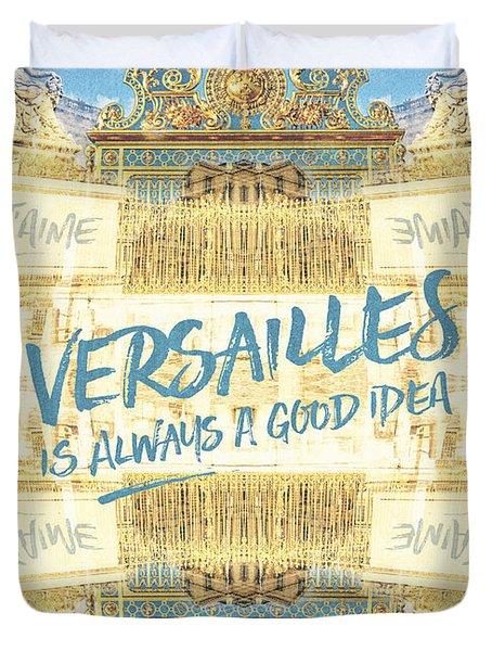 Versailles Is Always A Good Idea Golden Gate Duvet Cover