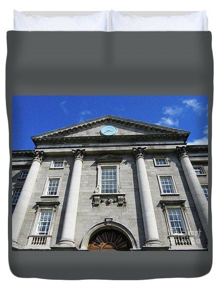 Downtown Dublin 4 Duvet Cover by Crystal Rosene