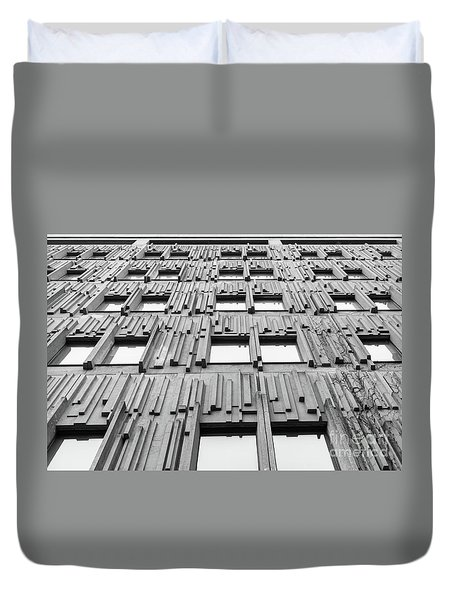 Vertical Lines Duvet Cover