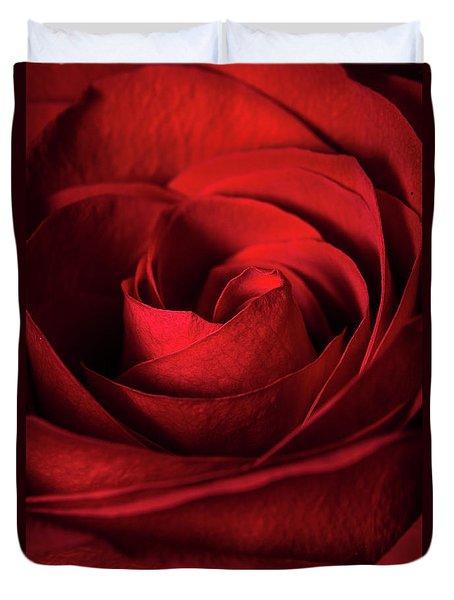 Vertical Rose Duvet Cover
