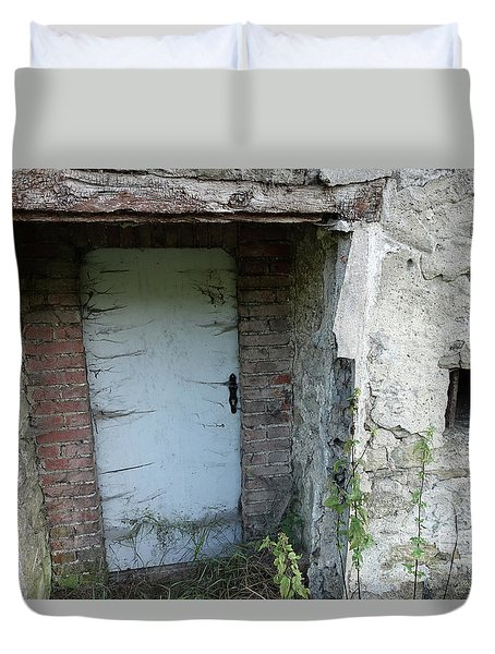 Very Long Locked Door Duvet Cover
