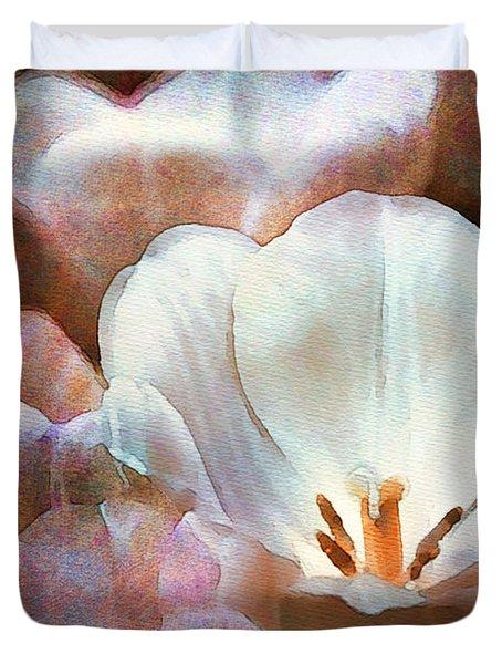 Vesper Tulips Duvet Cover