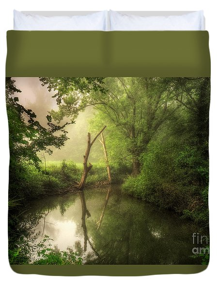 Veterans Of Ancient Storms Duvet Cover