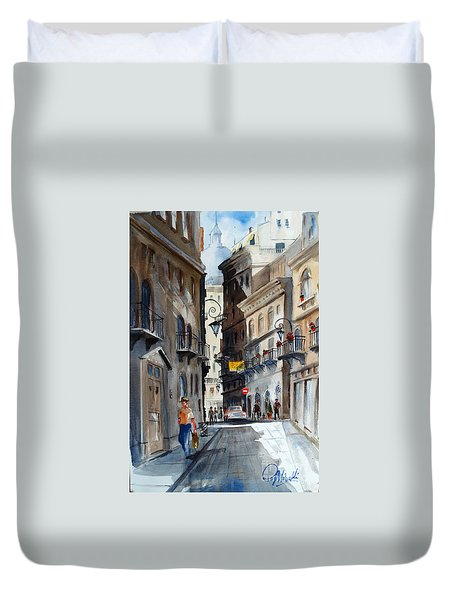 via Giardinetti  Duvet Cover