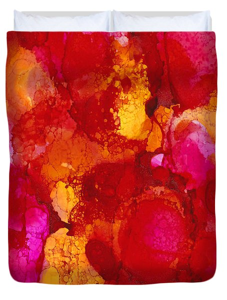 Vibrance Duvet Cover by Angela Treat Lyon