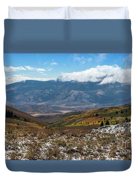 Vibrance Of The Storm Idaho Landscape Art By Kaylyn Franks Duvet Cover