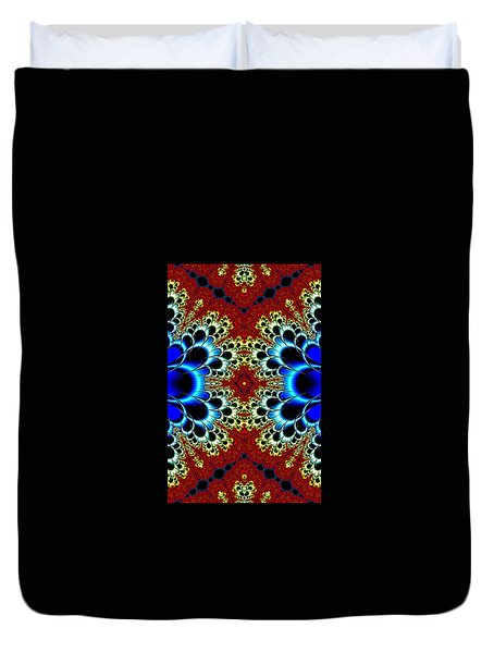 Vibrancy Fractal Cell Phone Case Duvet Cover