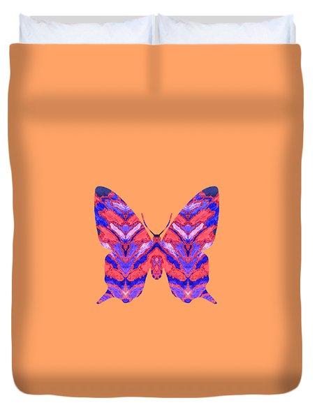 Vibrant Butterfly  Duvet Cover