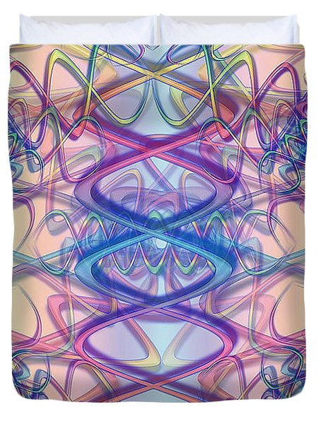 Vibrations Duvet Cover