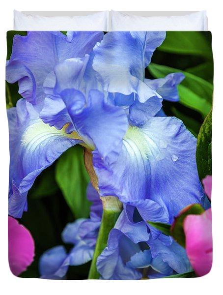 Victoria Falls Iris Duvet Cover