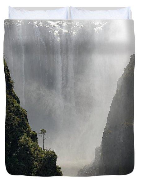 Victoria Falls No. 2 Duvet Cover by Joe Bonita