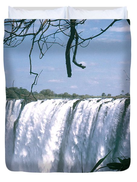 Victoria Falls Duvet Cover by Photo Researchers, Inc.