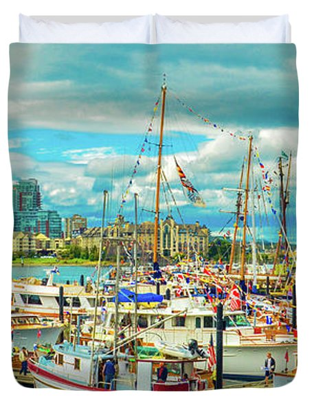 Victoria Harbor 2 Duvet Cover