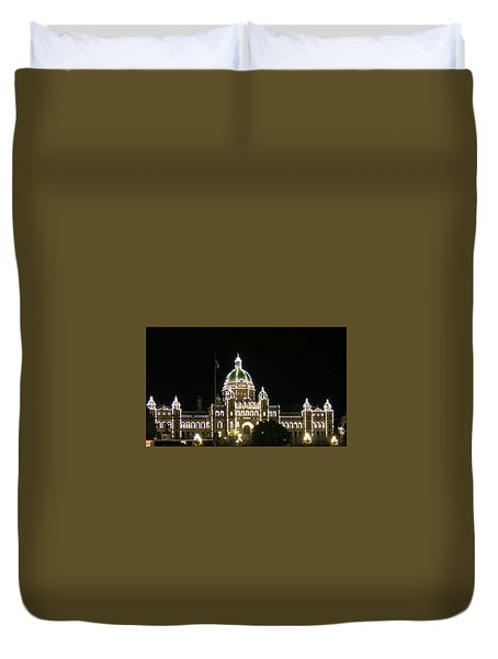 Victoria Legislative Buildings Duvet Cover