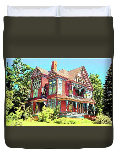 Victorian Duvet Cover by John Schneider