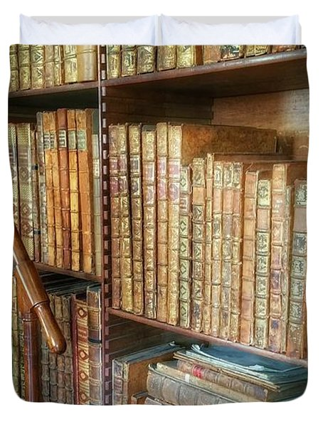 Victorian Library Duvet Cover