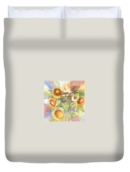 A Home Of My Own, 1905 Duvet Cover