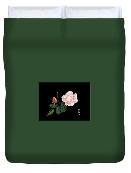Victorian Rose Duvet Cover